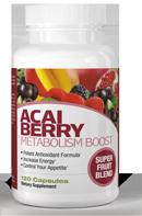 Açai Berry Metabolism Boost 120 Capsules