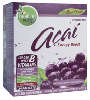 Açai Natural Energy Boost 48 Servings (24 Packets)